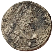 1 Krajczár - Joseph I (1705-1711) – avers