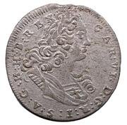1 Poltura - Karl VI (1711-1740) – avers