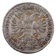 17 Krajczár - Mária Terézia (1740-1780) – revers