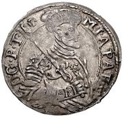 6 Denars - Michael Apafi (1661-1690) – avers