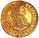 10 Ducats - Leopold I (1657-1705) – avers