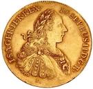 3 Ducats - József II – avers