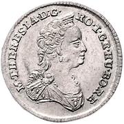 1 Poltura - Mária Terézia (Maria Theresia; 1740-1780) – revers