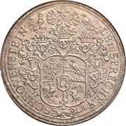 1 thaler - Franz Eusebius – revers
