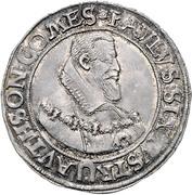 ½ thaler Paul Sixtus I – avers