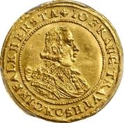 1 ducat Johann Franz von Trautson-Falkenstein – avers