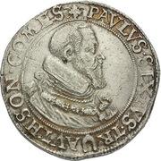 1 thaler Paul Sixtus I – avers