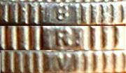 ½ roupie Chitra - Bala Rama Varma II -  avers