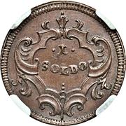 1 Soldo - Carlo VI – revers