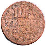 4 pfennig Johann Philipp – revers