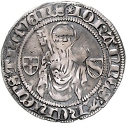 1 Blanken - Johann II. von Baden – avers