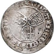 ½ Weißpfennig - Johann II. von Baden – revers