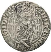 1 Weißpfennig - Johann II. von Baden – avers