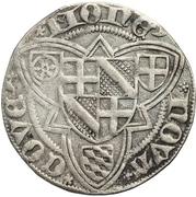 1 Weißpfennig - Johann II. von Baden – revers