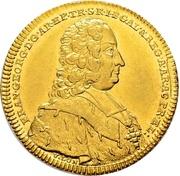 2 Ducat - Franz Georg von Schönborn – avers