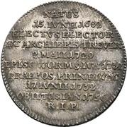⅛ Thaler - Franz Georg von Schönborn (Death) – revers