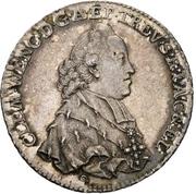 ½ Thaler - Clemens Wenzel von Sachsen (1/2 Konventionstaler) – avers