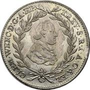 20 Kreuzer - Clemens Wenzel von Sachsen – avers