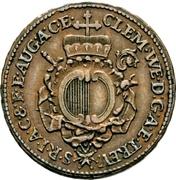 ½ Kreutzer - Clemens Wenzel von Sachsen – avers