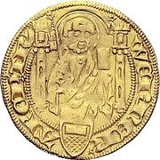 1 Goldgulden - Werner von Falkenstein (Koblenz) – avers