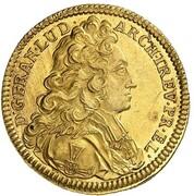 1 ducat Franz Ludwig – avers