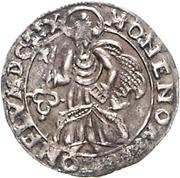 4 pfennig - Karl Caspar Von Der Leyen -Trier (Date en chiffre romain) – revers
