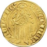 1 Goldgulden - Werner von Falkenstein (Oberwesel) – avers