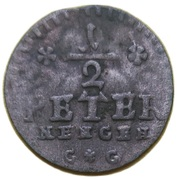 ½ petermännchen Franz Ludwig – revers