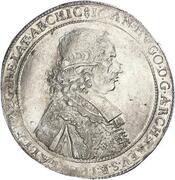 1 thaler Johann Hugo de Orsbeck – avers