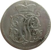⅙ thaler Johann Philipp de Walderdorff – avers