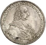 1 thaler Johann Philipp de Walderdorff – avers