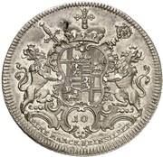 1 thaler Johann Philipp de Walderdorff – revers