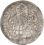 1 Thaler - Jakob III. von Eltz – revers