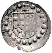1 Pfennig - Jakob II. von Baden (Schüsselpfennig) – avers