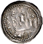 1 Pfennig - Theoderich II. (Dietrich) von Wied – avers