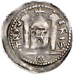 1 Pfennig - Theoderich II. (Dietrich) von Wied – revers