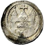 1 Pfennig - Folmar von Karden (von Blieskastel) – revers