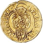 1 goldgulden Lothar de Metternich – avers
