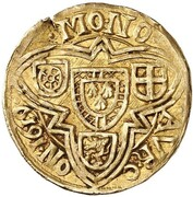 1 goldgulden Lothar de Metternich – revers