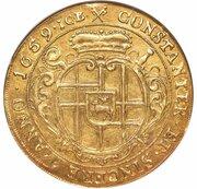 6 ducat Karl Kaspar von der Leyen – revers