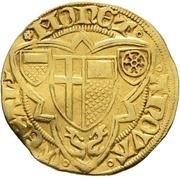 1 Goldgulden - Werner von Falkenstein (Oberwesel) – revers