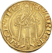 1 Goldgulden - Werner von Falkenstein (offenbach) – avers