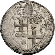 1 Thaler - Johann VII. von Schönenberg – revers