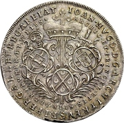 1 Thaler - Johann Hugo von Orsbeck (Décès de l'archevêque) – avers