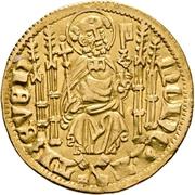 1 Goldgulden - Kuno II. von Falkenstein – revers