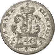5 kreuzer Johann Philipp de Walderdorff – avers