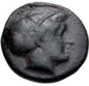 Trichalkon (Trikka) – avers