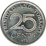 25 Cents - Elizabeth II – revers