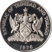 25 cents (chaconia) – avers