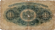 1 Dollar - George VI – revers